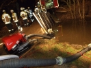 Bachsperre und Pumparbeiten...