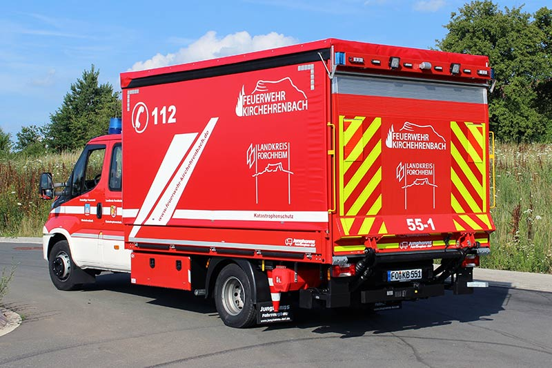 Gerätewagen Logistik 1 (GW-L1) - Feuerwehr Kirchehrenbach